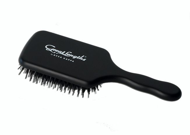 Acca Kappa Paddle Brush BLACK